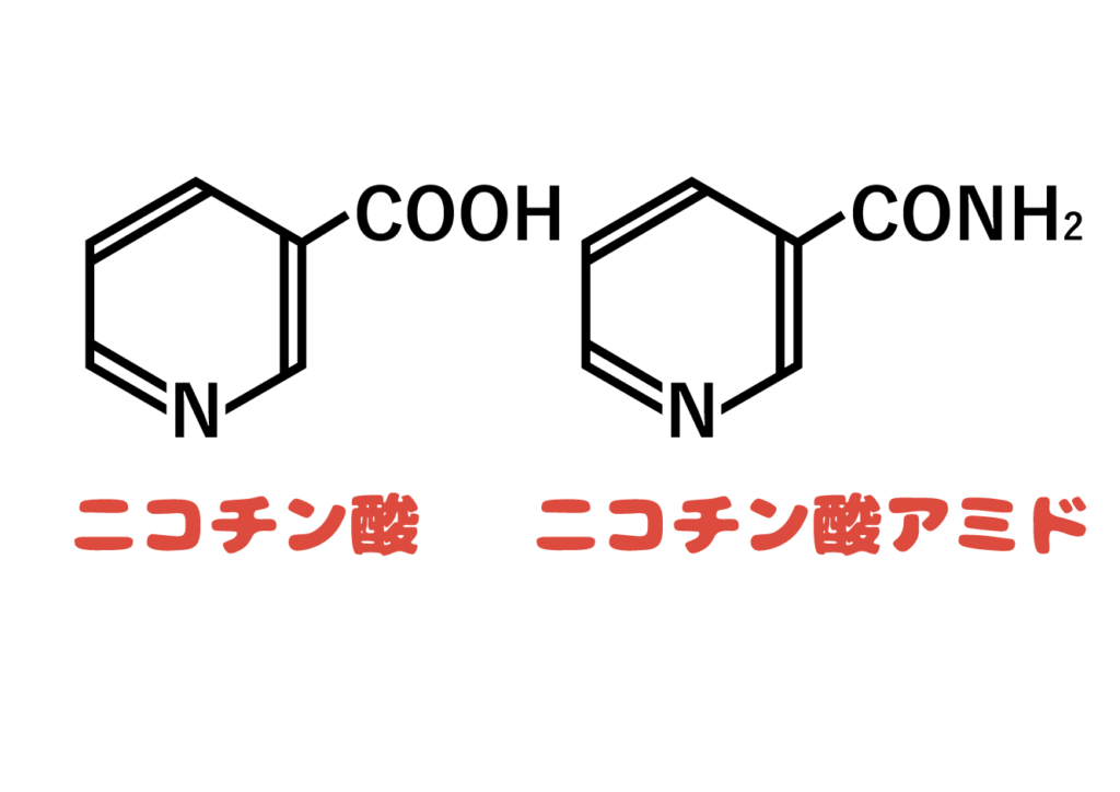 ナイアシンの構造